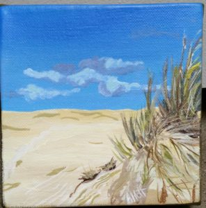 Florence Dunes by artist April Hoff