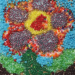 Tiny Seed Bead Mosaic done by Jonathan H. for Artingales