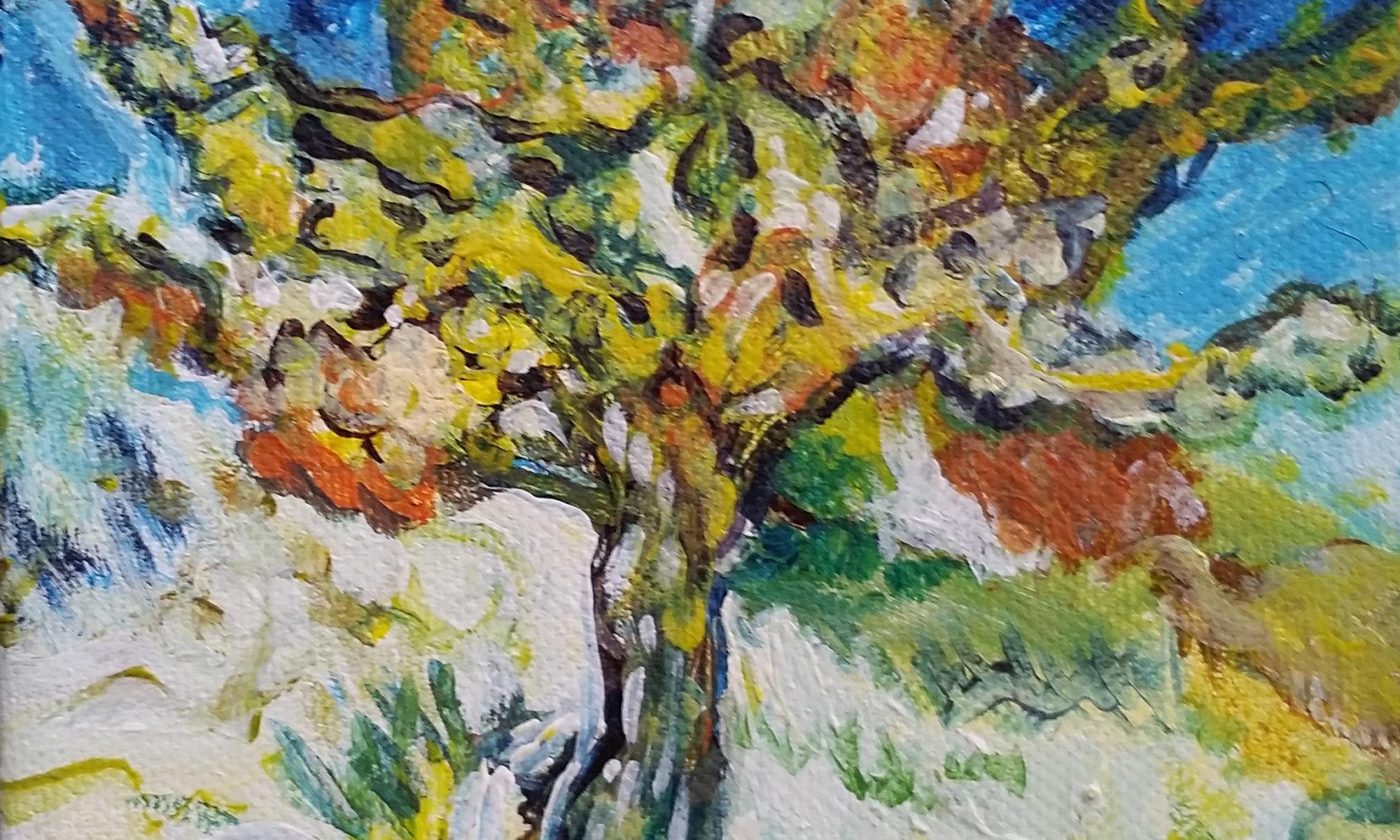 Van Gogh study by April Hoff