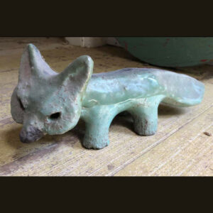 Charlotte Purrington's clay fox