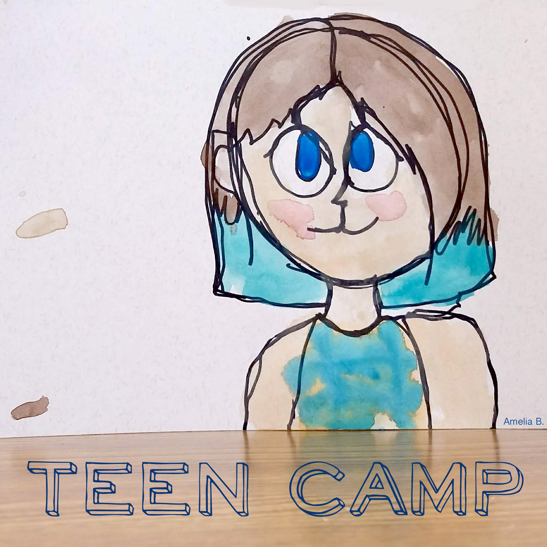 Teen drawing for Artingales Teen Camp
